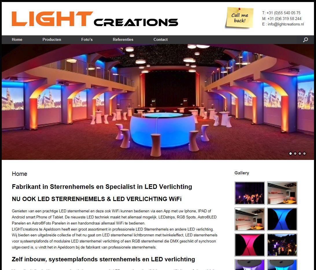 LIGHTcreations.nl heeft een nieuwe website – Computersupport ...
